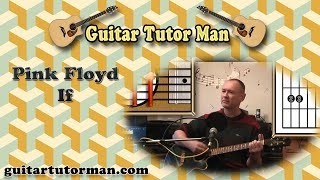 If - Pink Floyd - Acoustic Guitar Lesson