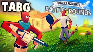 Totally Accurate BATTLEGROUNDS!?  TABS Battle Royale Gameplay! (TABG Part 1 PvP)