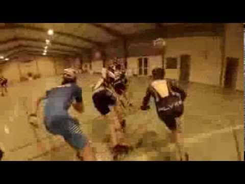 Inline Speed Skating Training Indoor   Gopro HERO 3 Edit