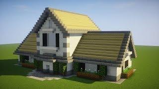 Minecraft: How To Build A Suburban House Tutorial  (PS3/4, Xbox, Wii U, Switch, PE, PC)