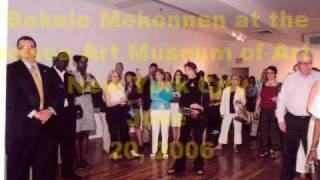 Ethiopian Art: Bekele Mekonnen At The Chelsea Art Museum Of Art In New York City June 20, 2006