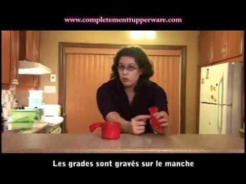 Tasses et cuillères à mesurer