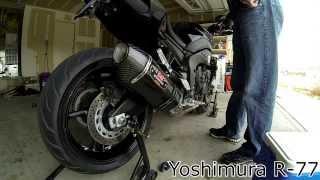 10. FZ8 with Yoshimura R 77 Exhaust
