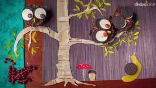 Video paso a paso: Cómo hacer cupcakes de lechuza de Halloween