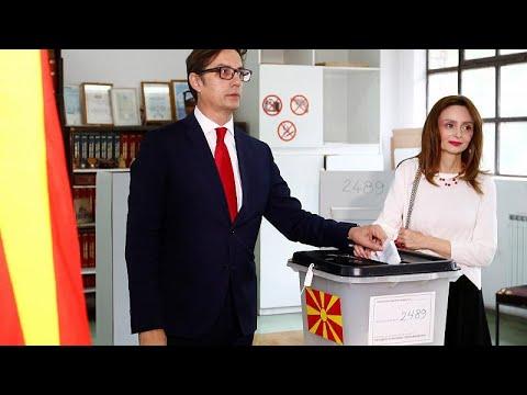 Βόρεια Μακεδονία: Νέος πρόεδρος ο εκλεκτός του Ζάεφ