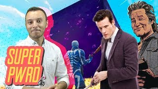 Fortnite Mysteries, Matt Smith in Star Wars, Jack Burton Return & More! - Super PWR'd!!