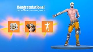 The FREE BORDERLANDS Skin REWARDS in Fortnite.. (FREE ITEMS)