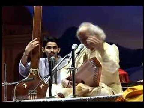 pandit - Great Performance by Pandit Jasraj singing Raga Purvi and taal is drut teental.