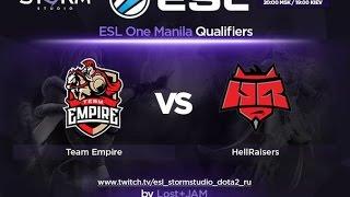 Empire vs HR, game 1