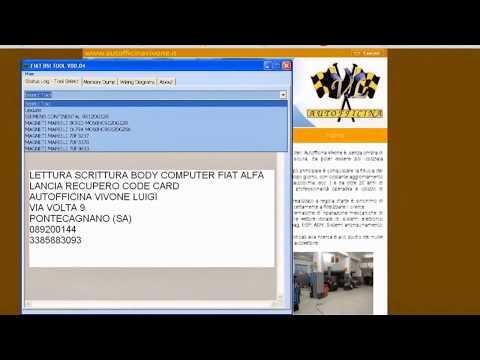 SOFTWARE FIAT ALFA LANCIA BODY COMPUTER