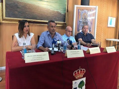 Presentación Fiestas del Carmen 2019 de Isla Cristina