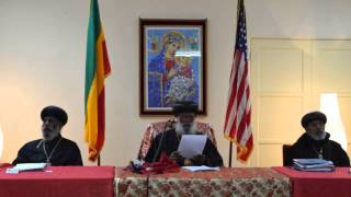 EOTC 4th Patriarch Message