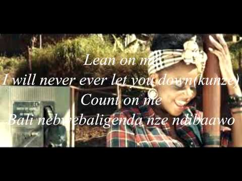 lean on me rema namakula lyrics video