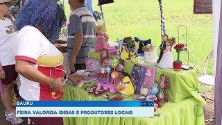 Artesãos ganham mais exposição para trabalhos em feira de Bauru