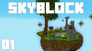 Minecraft Skyblock - Ep. 1: MEGA OP ROBOTS! (ChaosCraft 1.15.2)