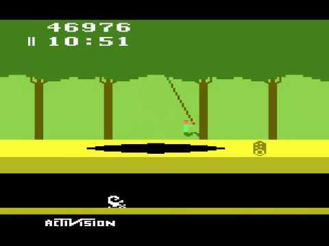Atari 2600 Longplay Pitfall! (old)