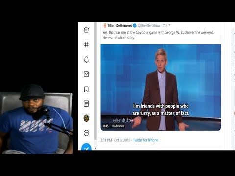 My Thoughts on George W Bush & Ellen DeGeneres