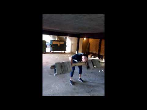 Cinderblock gym back workout tuesjune14 2016 (видео)