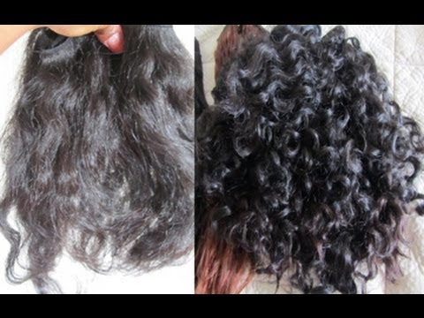 HowTo: Make Straight Hair Curly with Perm (+ experiment)