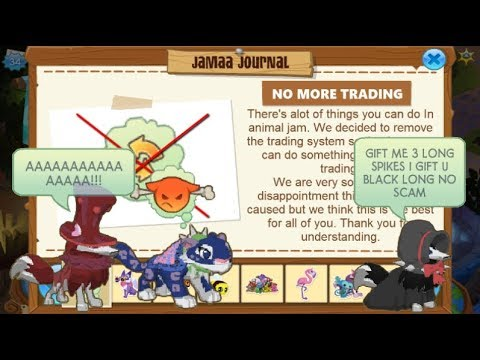 If Trading Was Removed From Animal Jam