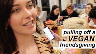 A *VERY* LATE FRIENDSGIVING by Amanda Steele