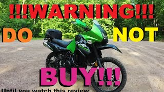 3. DON'T BUY A KLR650 Until You See This Review!