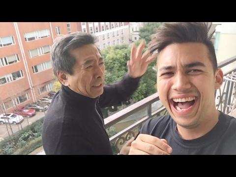 Pranking dad in China