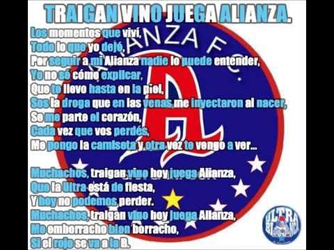 Muchachos, Traigan vino juega Alianza - La Ultra Blanca y Barra Brava 96 - Alianza