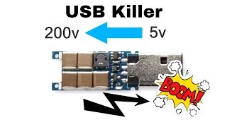 What is a USB Killer ? Why They Use It?
