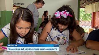 Projeto em Arealva ensina educação ambiental a crianças