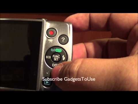 Powershot A3500 IS Hands on Review With Wifi Photo Share Demo