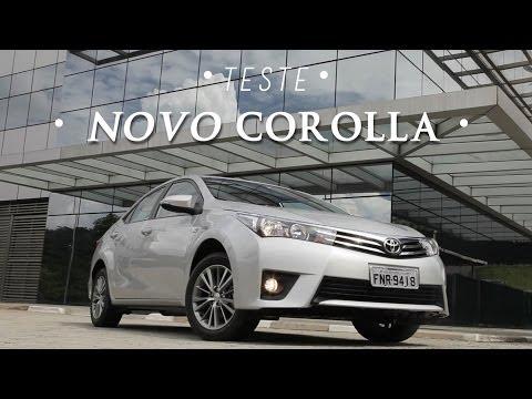 Toyota Corolla 2015 – teste WebMotors