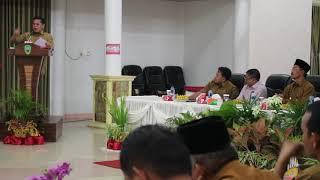 Sambutan Ketua Tim Koordinasi Penanggulangan Kemiskinan Kabupaten Pasaman H. Atos Pratama
