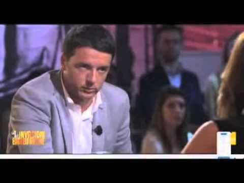 """Matteo Renzi alle """"Invasioni Barbariche"""""""