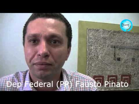 Jales - Dep. Fausto Pinato participa nesta sexta-feira (18/03) e fala com o Site A Voz das Cidades