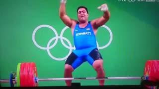Olympics Rio 2016 weights.