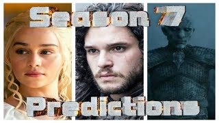 Game of Thrones Season 7 Predictions ============================= Now has come the time for the dreaded 10-month...