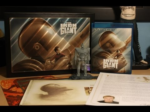 The Iron Giant - Limited Signature Edition Blu-ray Gift Set Unboxing