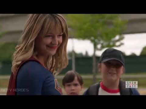 Supergirl Saves Kids & Lena Punches her for Hiding her Identity Season 5 Episode 1 Opening Scene
