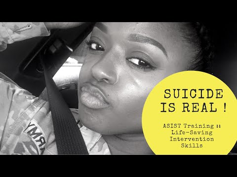 Suicide/Suicidal Thoughts Are Real | ASIST Training (GETS PERSONAL)