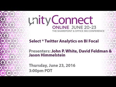 Select * Twitter Analytics on BI Focal