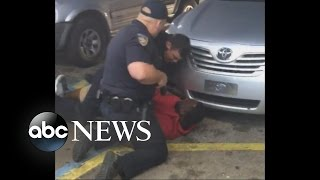 Baton Rouge Police pin down and shoot Alton Sterling