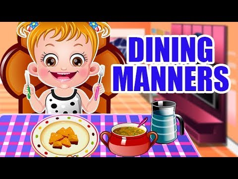 Video of Baby Hazel Dining Manners