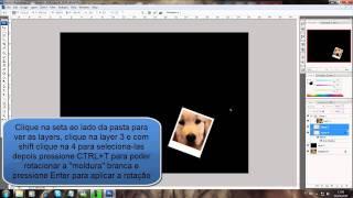 Aula de Photoshop CS3: Efeito Colagem com Várias Fotos