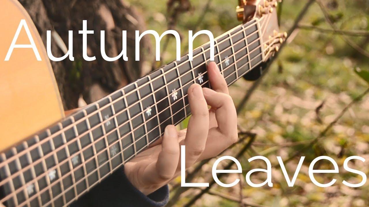 Autumn Leaves | Fingerstyle Acoustic Guitar | Jazz Standard