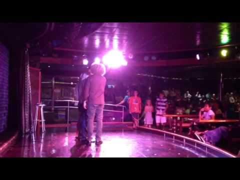 Seth Buchwald with Lester Bibbs on carnival Triumph