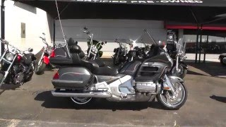 6. 401475 - 2005 Honda Gold Wing GL1800AS w/ABS - Used Motorcycle For Sale