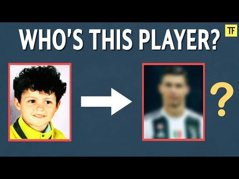 Can You Name These Footballers as Children? | Football Quiz