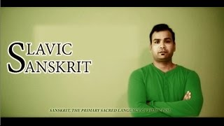 This videos has been created to show similarities between Sanskrit and Slavic. Similarities between Counting, Sentence making & word meanings etc.