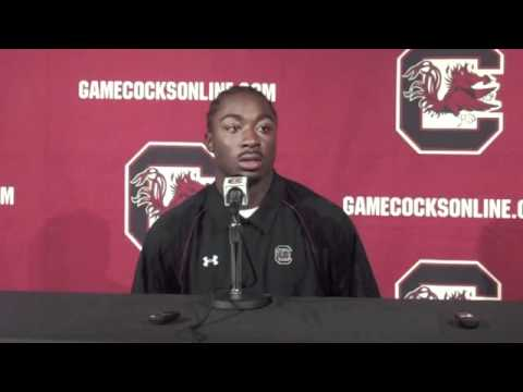 0 Marcus Lattimore Interview Before Vanderbilt Game